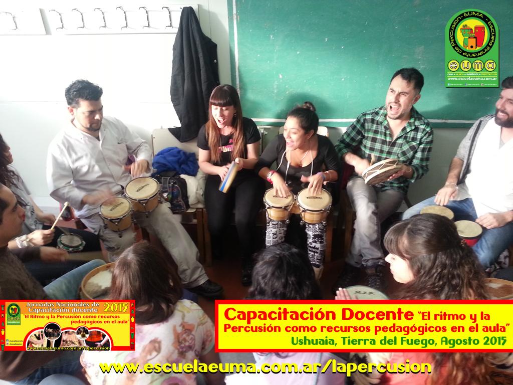 Curso de Capacitación Docente en Ritmo y Percusión