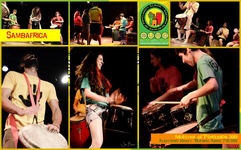 Ensamble de Percusión Africana EUMA