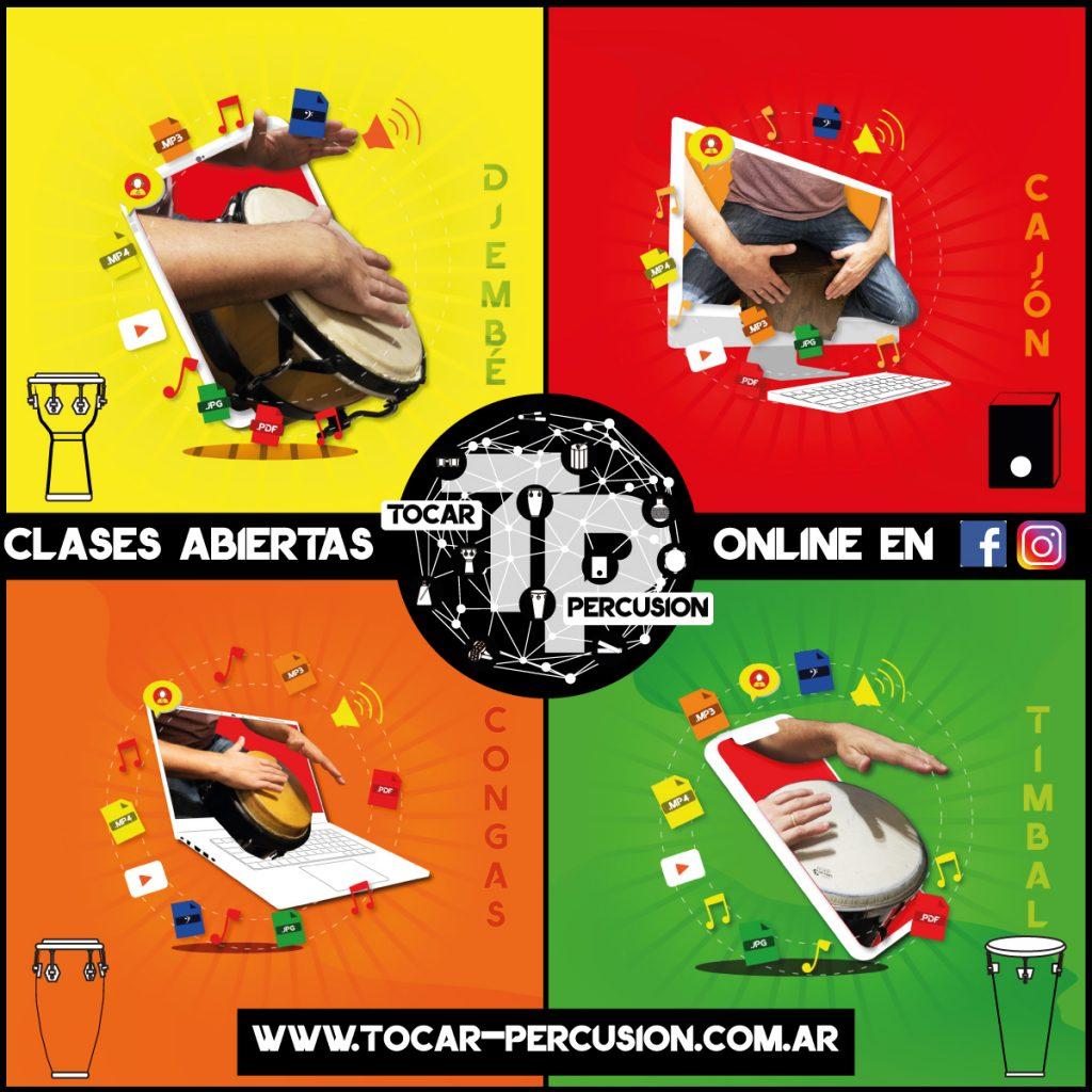 Tocar-Percusion-Escuela-Online-Clases-Abiertas-de-Percusion